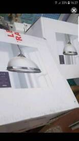 2x Eton pendant light fittings brand new