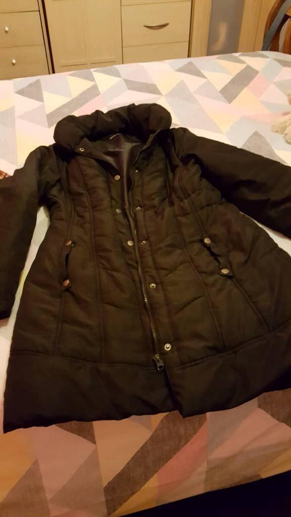 Brave soul black coat