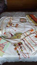 Nursery bedding set from mamas and papas