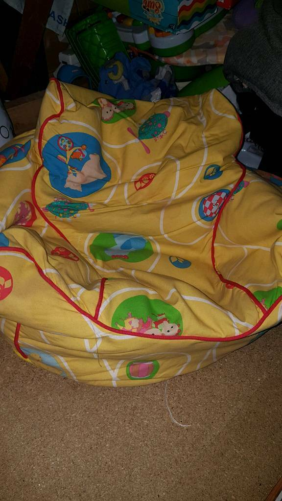 In the night garden bean bag chair