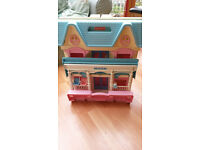 Kids foldaway doll house by Fisher Price