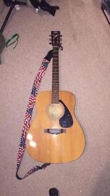 Acoustic guitar Yamaha F-310