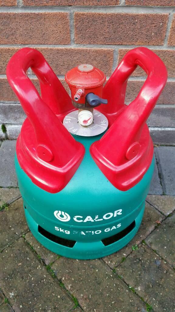PATIO GAS BOTTLE 5KG WITH REGULATOR