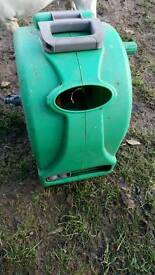 Hose reel and a separate hose cover