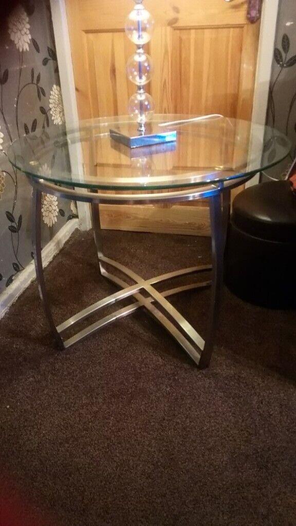 Peachy Glass Coffee Table In Salford Manchester Gumtree Uwap Interior Chair Design Uwaporg