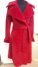 Red Reiss coat size small