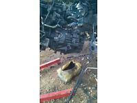 08 plate 6 speed transit gearbox and driveshaft
