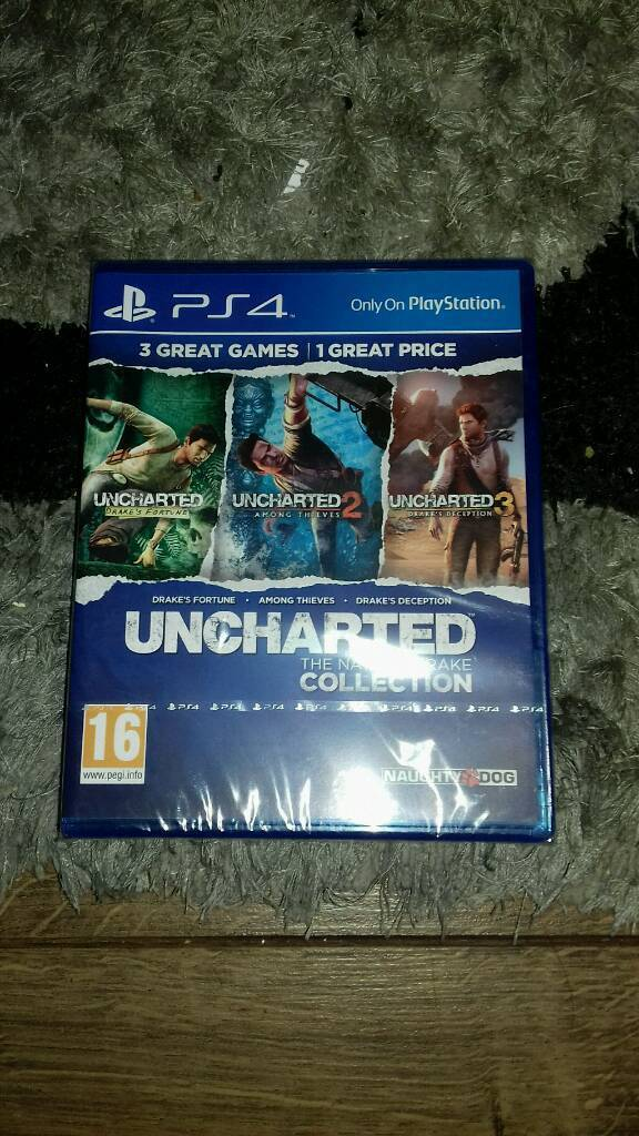 Uncharted The Nathen Drake Collection ps4
