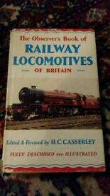 The Observer's Book of Railway Locomotives 1961