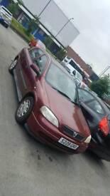 Vauxhall Astra 1.4LS sunroof bulletproof engine