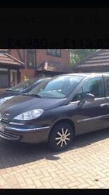 Peugeot 807 HDi 2.0 5 door 7 seats 2010
