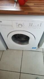 6kg white washing machine for sale £80.00