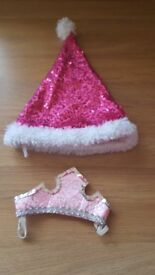 Build a bear xmas hat and crown