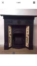 Cast iron fireplace, delivery £25 max most uk