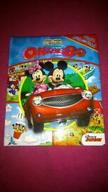 Mickey mouse story teller, large puzzle & book
