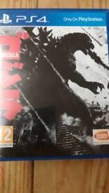 PS4 game Godzilla