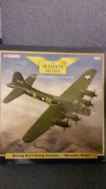 Corgi aviation archive boeing B-17 flying fortress memphis belle AA31104