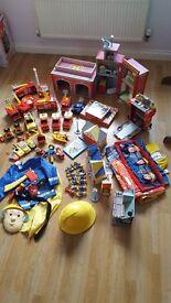 Fireman Sam Toy Bundle ( over £300 worth )
