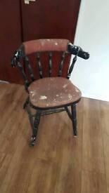 Antique chair for restoration