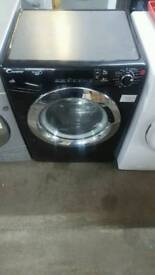 BLACK CANDY 9KG 1600 SPIN WASHING MACHINE WITH 3 MONTHS GUARANTEE