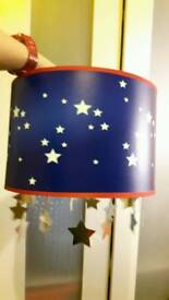Childrens Ceiling Star Lampshade