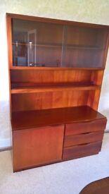 McIntosh Teak Display Cabinet/Sideboard