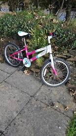 Girls bike. 20 inch wheels