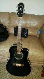 ELECTRIC BOX GUITAR - TOP QUALITY WITH BAG