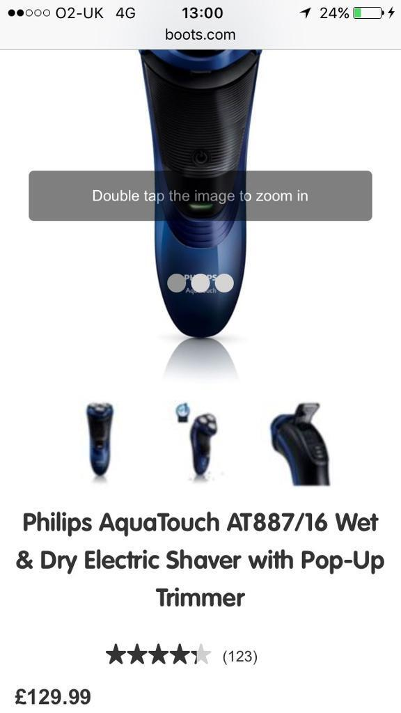 philips wet and dry shaver