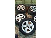 Audi A3 Wheels And Tyres All In Good Condition