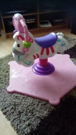 Bouncing zebra, hardly bounced, excellent condition