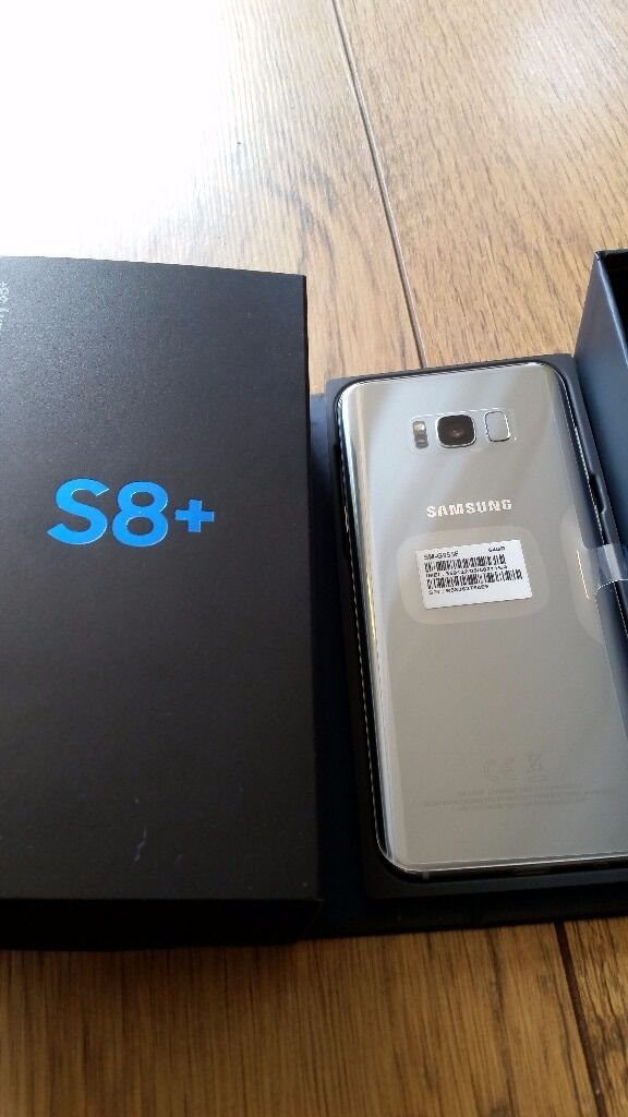 samsung galaxy s8 plus ee arctic silver 64gb brand new in york north yorkshire gumtree. Black Bedroom Furniture Sets. Home Design Ideas