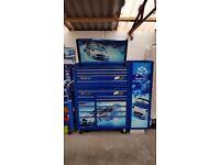 SnapOn Ford Fiesta WRC M-Sport Tool Box Roll Cabinet !!!