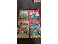 Classic The Broons x 4 - Good Condition