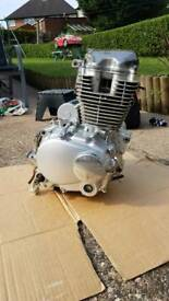 Cg125 engine working electric start engine cg 125
