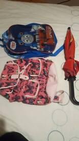 2 Bags & 1 Umbrella