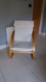 **FREE** Cream padded chair