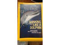 2015 National Geographic magazines
