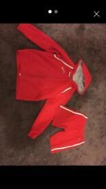Rainbows hoodie and shorts