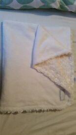 Fleecy Pram Blankets x 2