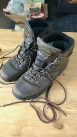 Miendl burma pro walking boots size uk 10.5