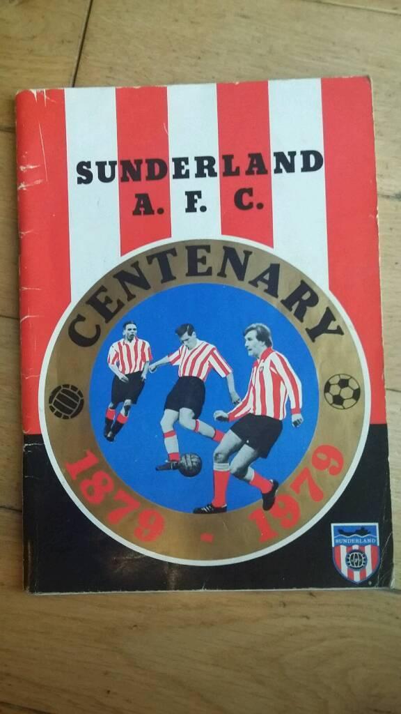 Signed Sunderland AFC Centenary book