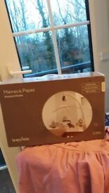 Mamas and papas cot/baby mobile