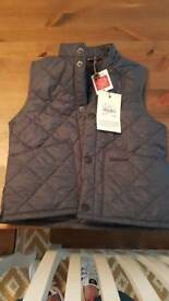 Barbour Gilet 4-6 yr old