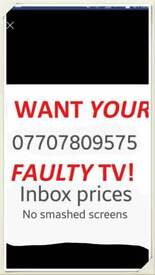 Tv wanted