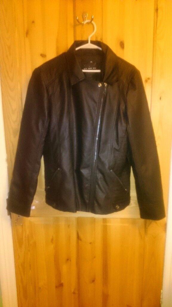Wallis new faux leather jacket