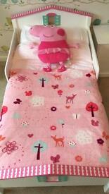 Beautiful Girls Toddler Bed