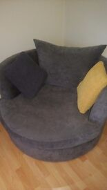 DFS Large Swivel Chair for Sale