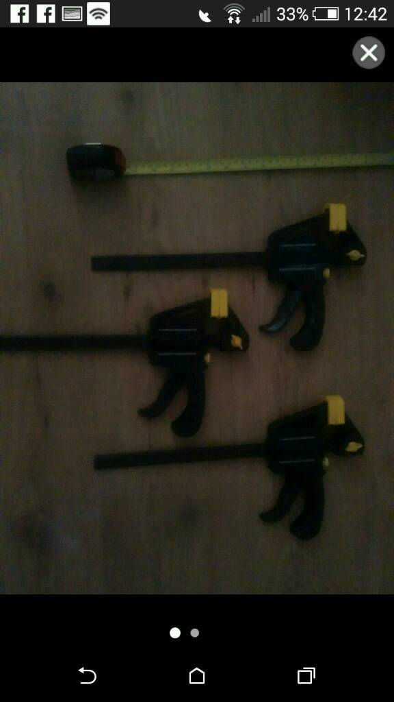 Ratcheting clamps