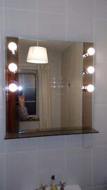 Fabulous dressing room mirror